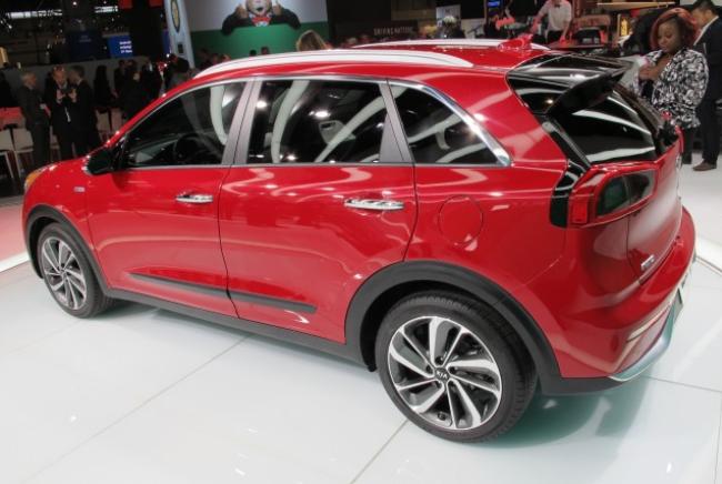 Kia Niro Hybrid – 2017