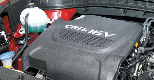 Дизельный двигатель eVGT