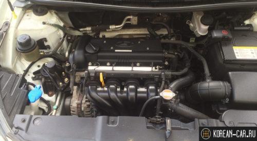 Двигатель 1.4 литра на Хендай Солярис