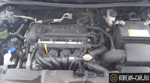 Двигатель 1.6 литра на Хендай Солярис
