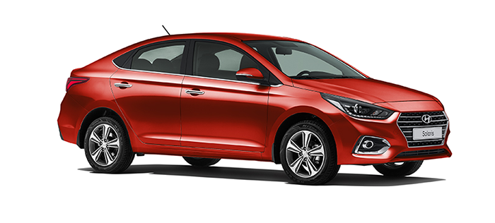 Hyundai Solaris Garnet Red
