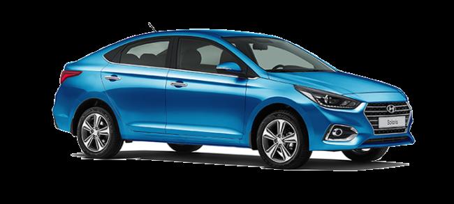 Hyundai Solaris Darjeeling Blue
