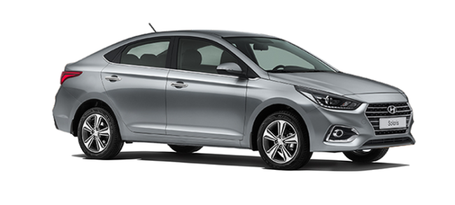 Hyundai Solaris Carbon Gray
