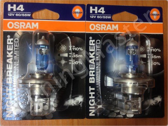 Лампа H4 ближнего и дальнего света на Хендай Солярис