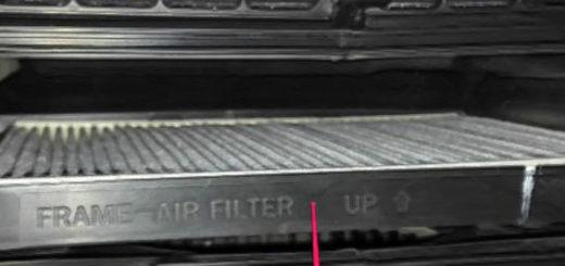 Замена старого салонного фильтра на Хендай Солярис