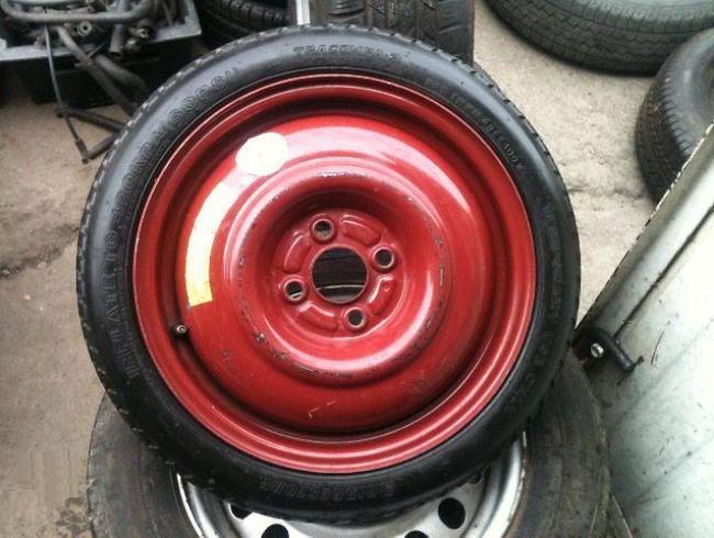 Докатное колесо 15 дюймов на Солярис