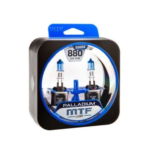 Новая лампа в упаковке Н27 MTF Palladium для противотуманной фары Хендай Солярис