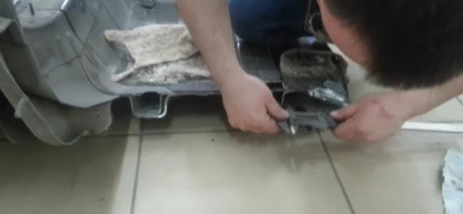 Распиленный кузов Соляриса, 2014 г.в.