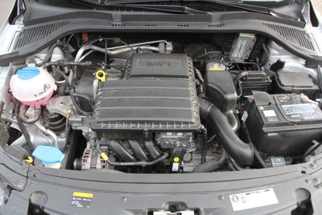 Двигатель 1,6 в Шкоде Рапид, 110 сил