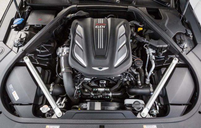 Двигатель 3.3T на Хёндай Генезис 2017 года