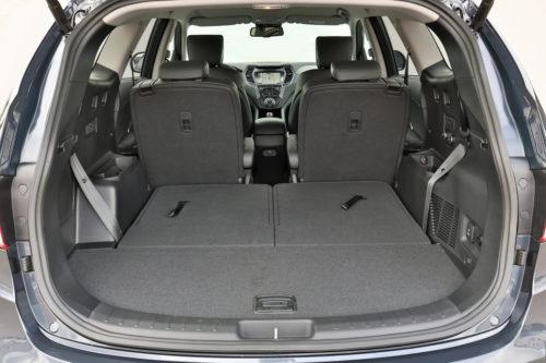 Багажник в новом кузове Хёндай Гранд Санта Фе