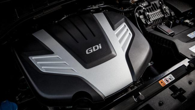 Двигатель Хёндай Гранд Санта Фе 2017 года бензиновый