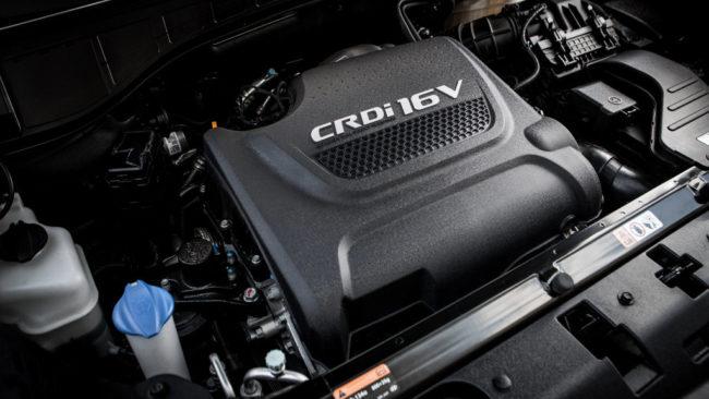 Дизельный двигатель Хёндай Гранд Санта Фе 2017 года