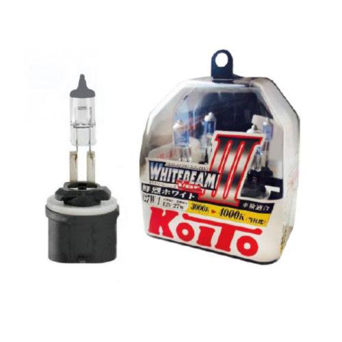 Новая лампа в упаковке KOITO WhiteBeam III для противотуманной фары Хендай Солярис