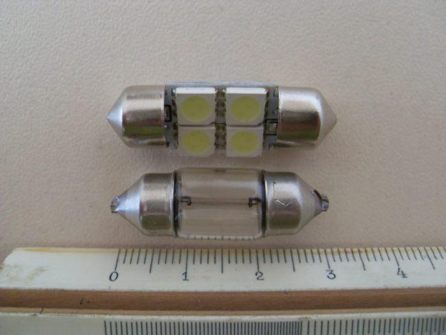 Лампы C5W освещения багажника на Хёндай i30
