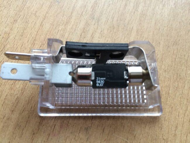 Лампа освещения багажника и патрон на Хёндай i30