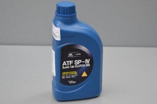 Масло ATF SP4 для автоматической коробки передач Хендай Солярис в канистре