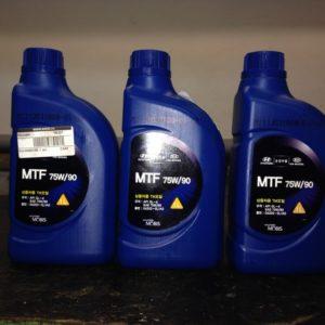 Трансмиссионное масло MTF 75w/90 GL4 для Хёндай Солярис
