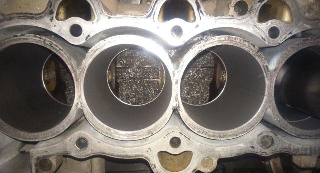 Расточенные для ремонта цилиндры на Хёндай Солярис