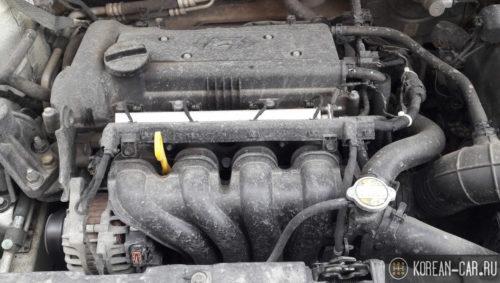 Двигатель Хёндай Солярис 1,4 литра