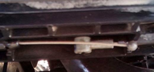 Регулировка тросика замка капота на Хёндай Солярис