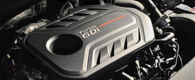 Hyundai Sonata Turbo 2017 двигатель
