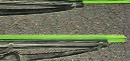 Каркасные дворники в защитной зелёной резинке на Хёндай Акцент
