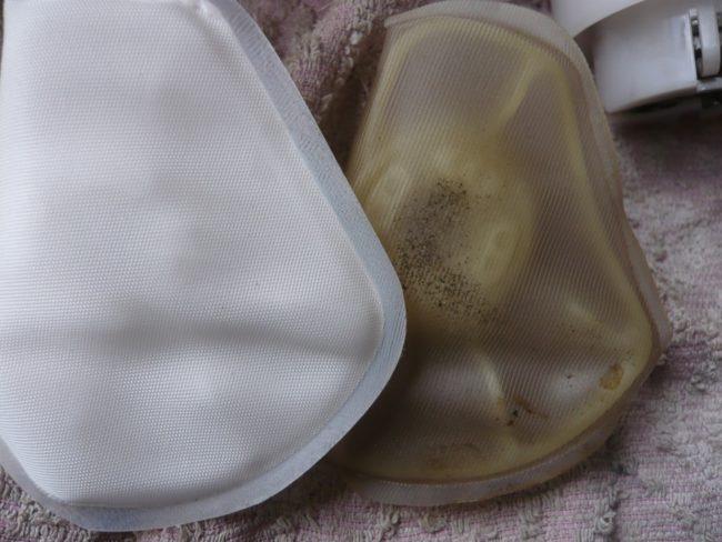 Сравнение старой и новой сетки бензонасоса от универсала Лада Калина