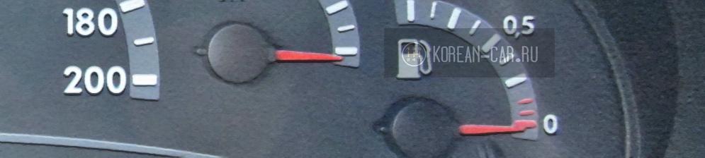 Низкая температура двигателя на Лада Калина панель приборов