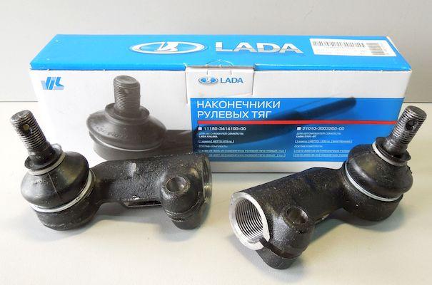 Комплект рулевых наконечников для Лада Калина первого поколения