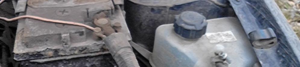 Пробка системы охлаждения бачка расширительной жидкости Лада Калина под капотом