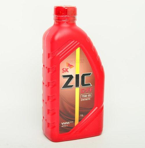 Пластиковая емкость с трансмиссионным маслом ZIC для коробки передач в Лада Калине второго поколения