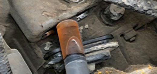Смазка вилки сцепления из шприца на Лада Калина