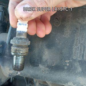 Свечи зажигания Brisk lr15yc-1 на 8-ми клапанную ВАЗ-2110
